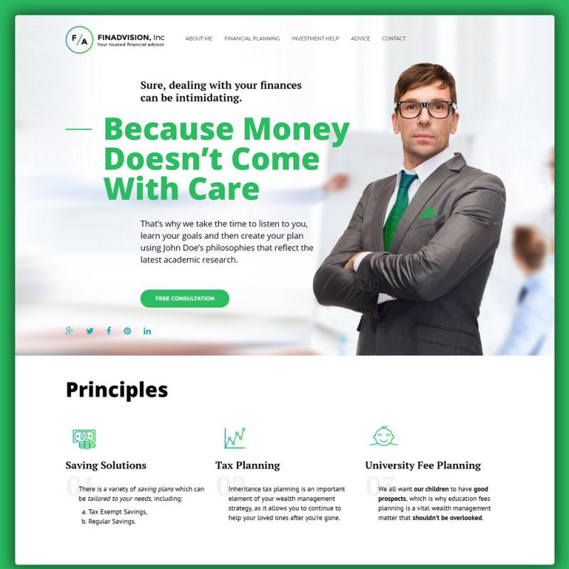 Làm website tài chính 66