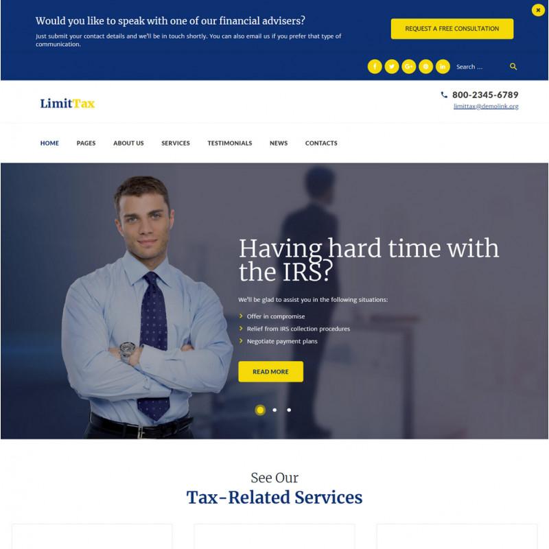 Làm website tài chính 68