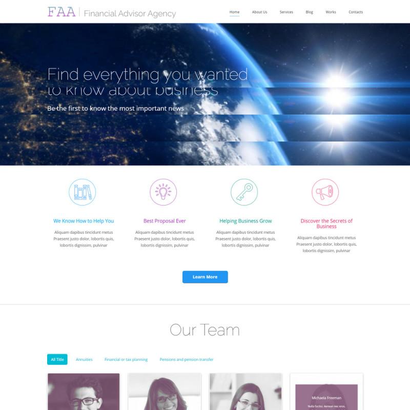 Làm website tài chính 73
