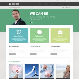 Làm website tài chính 81