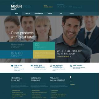Làm website tài chính 88