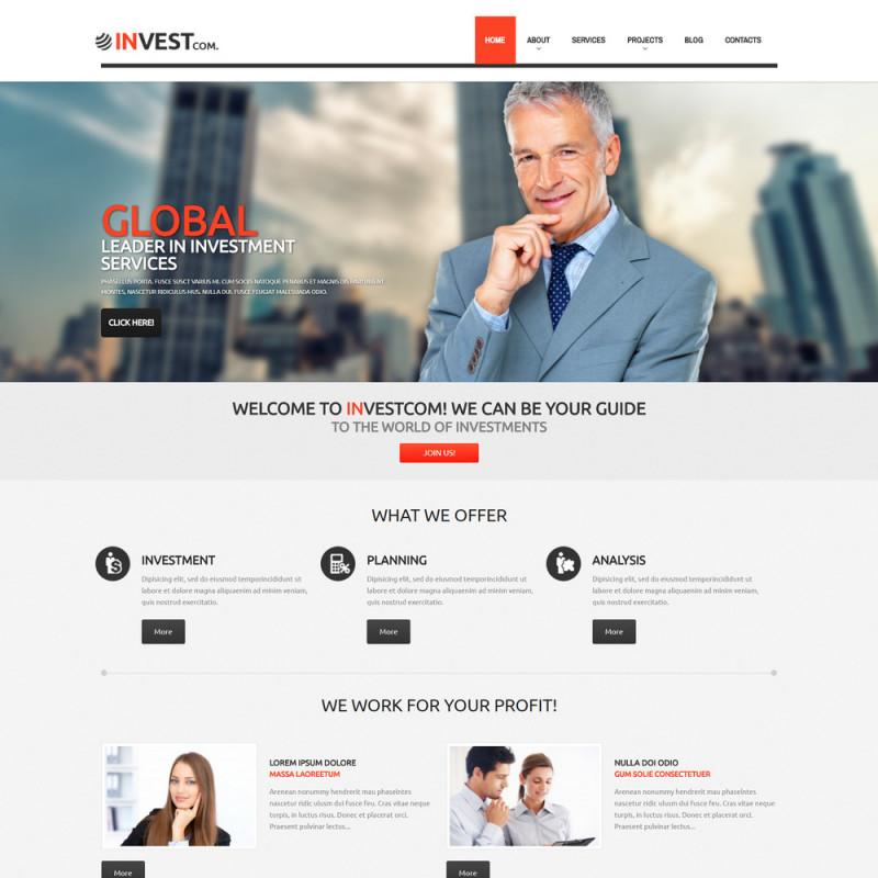 Làm website tài chính 93