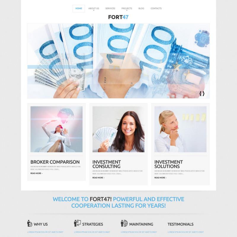 Làm website tài chính 94