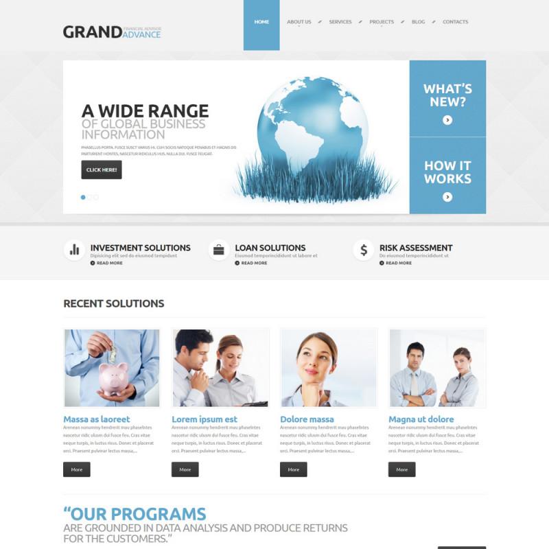 Làm website tài chính 96