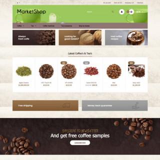Mẫu web bán hàng thực phẩm 0003